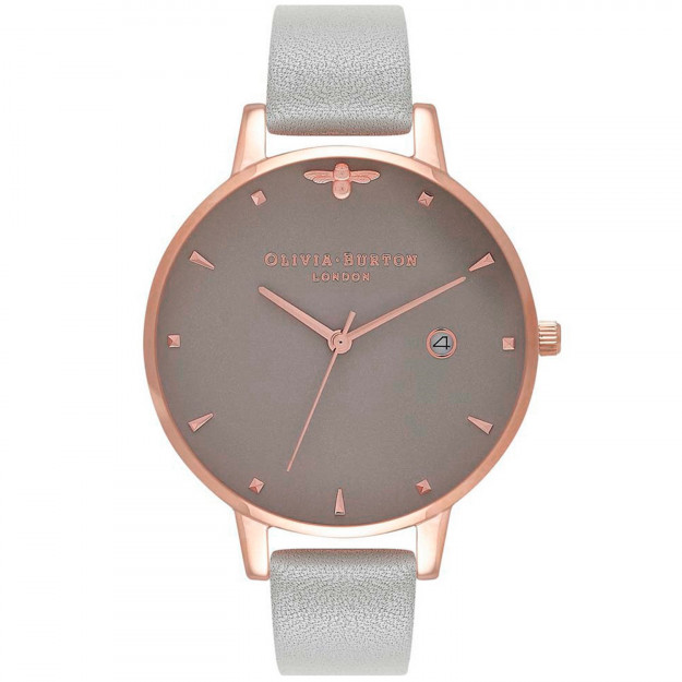Olivia Burton Queen Bee Grey and Rose Gold-35