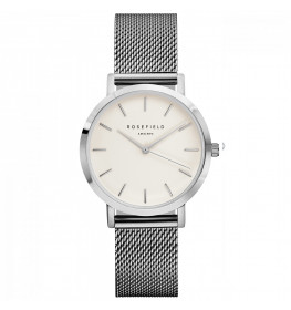 Rosefield The Tribeca White Silver TWS-T52-028