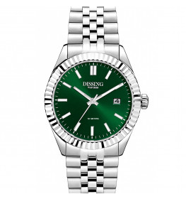 Dissing Date 36 Silver/Green-054