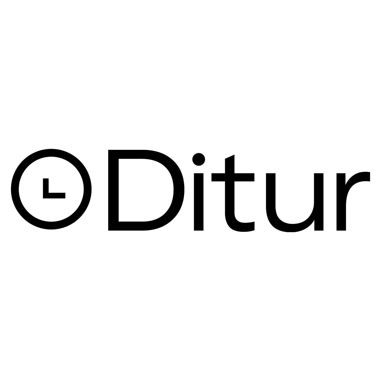 Armbåndssæt med 2 armbånd i sort lava og mørkebrune sten-032
