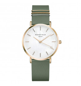 Rosefield The West Village Olive Green Gold WFGG-W85-037