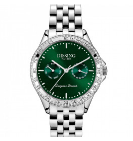Dissing Ladies Silver/Green-045