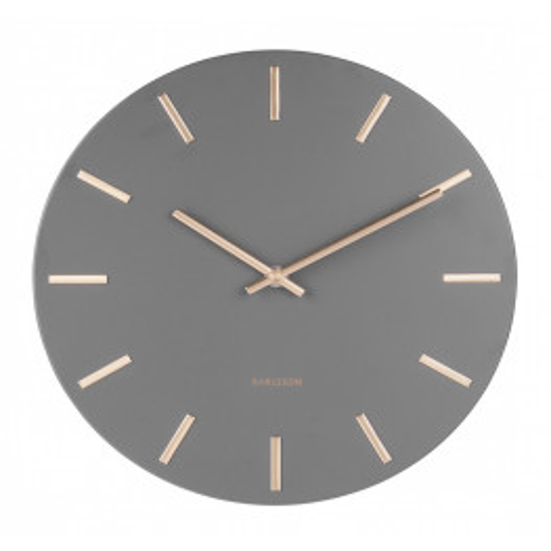 Karlsson Wall Clock Charm KA5716GY 45 cm-064