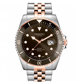 Dissing Diver Silver/Rose/Grey-brown-053