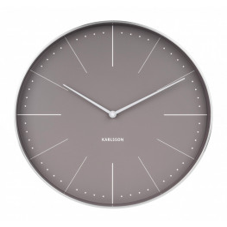 Karlsson Wall clock Normann station KA5681GY (Grå) 38 cm-066