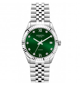 Dissing Date Sparkle 32 Silver/Green-062