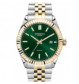 Dissing Date Two Tone Gold/Green-045