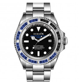 OceanX Sharkmaster Limited Edition 1000 Meters Automatic Diver SMS1044-06