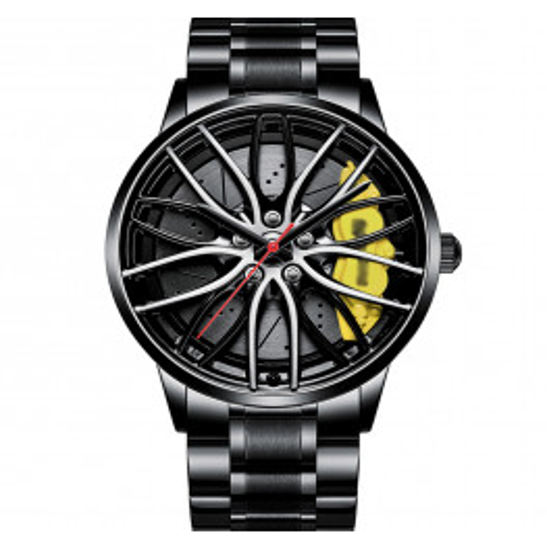 Racing Watch 3D 116 A2022G Yellow-02