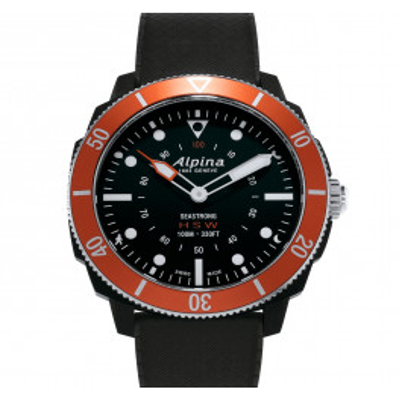 Alpina Seastrong Horological Smartwatch AL-282LBO4V6-04