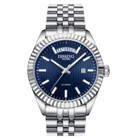Dissing Day Date Steel Blue-08