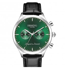 Dissing Black Leather Green-019