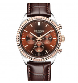 Dissing Date Chrono Leather Brown-04