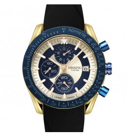Dissing Chrono Gold/Blue/Black Limited Edition-08