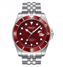 Dissing Diver Steel/Red-06