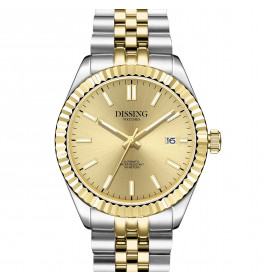 Dissing Date Date Automatic Steel/Gold-06
