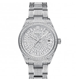 Dissing Date 36 Iced Out Silver-06