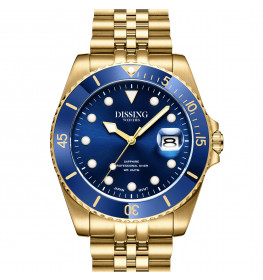 Dissing Diver Gold/Blue-055