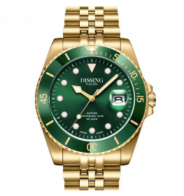 Dissing Diver Gold/Green-055