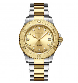 Dissing Lady Diver Two Tone Gold/Silver-07