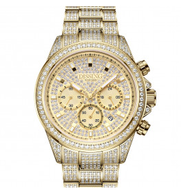Dissing MK9 Iced Out Gold-06
