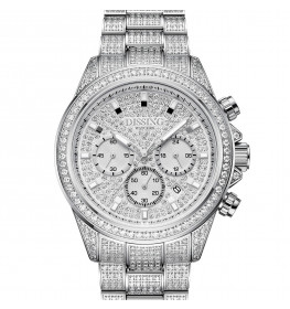 Dissing MK9 Iced Out Silver-08