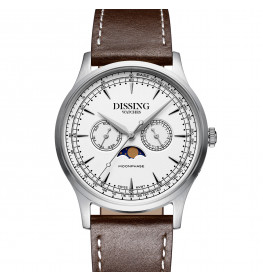 Dissing Moonphase Leather White-07