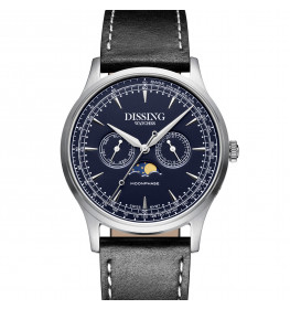 Dissing Moonphase Leather Blue-09