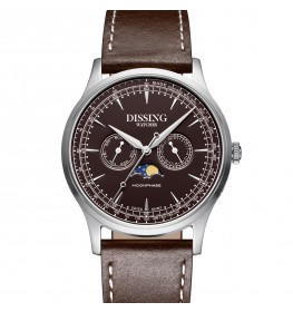 Dissing Moonphase Leather Brown-08