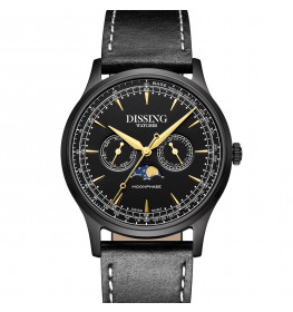 Dissing Moonphase Leather Black-06