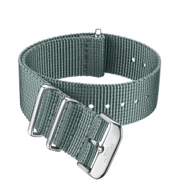 Dissing Grey Nato Strap 22MM DS035-03