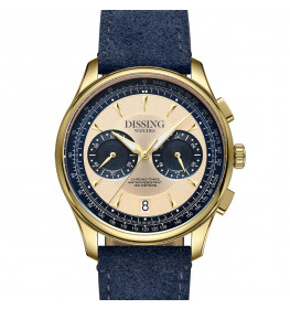 Dissing Pioneer Suede Blue Gold-07