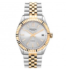 Dissing Date 36 Two Tone Silver/Gold-057