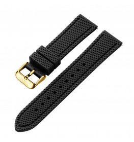 Dissing Black Silicone Strap 20MM DS004-01