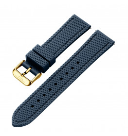Dissing Blue Silicone Strap 20MM DS007-01