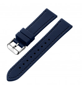 Dissing Blue Silicone Strap 22MM DS015-01
