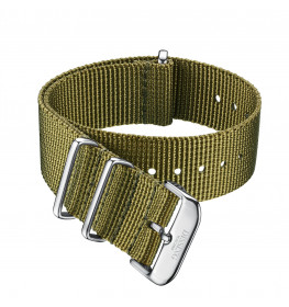 Dissing Green Nato Strap 22MM DS041-02
