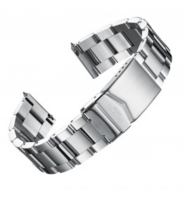 Dissing Silver Oyster Strap 22MM DS063-02