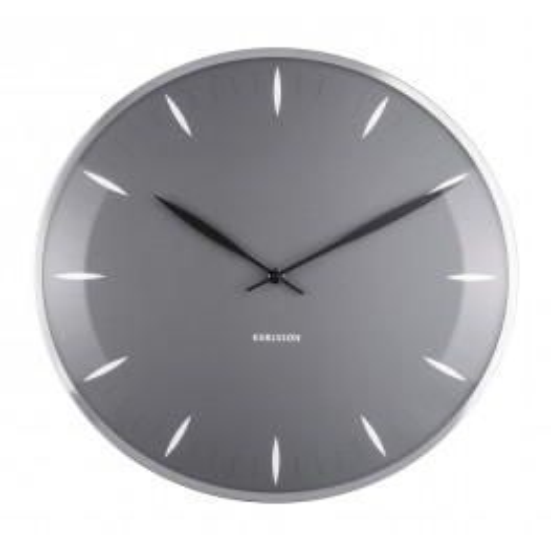 Karlsson Wall Clock Leaf White KA5761GY 40 cm-03
