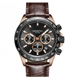 Dissing MK9 Leather Brown/Rosegold-08