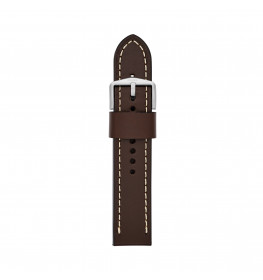 Fossil Leather Strap Dark Brown 22 mm S221242-010