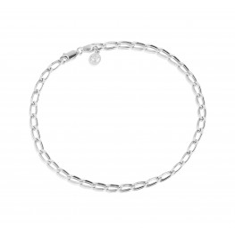Sif Jakobs Cheval Chain Ankelkæde Sølv-01
